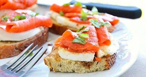 Форель малосольная для бутербродов