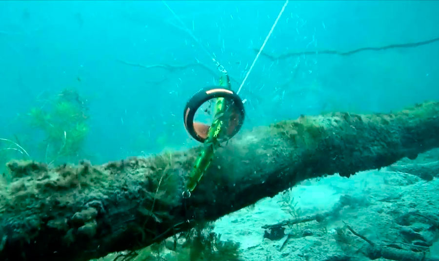 Методы освобождения рыболовного крючка застрявшего в чем то