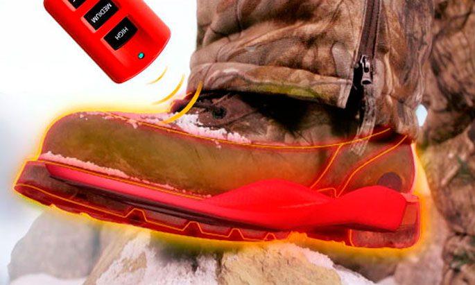 Как работают стельки с подогревом