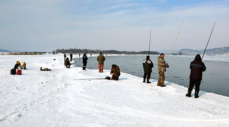 Рыбалка в декабре на открытой воде
