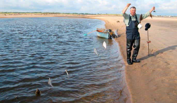 Рыбалка на камбалу с берега