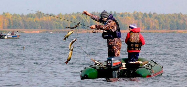 Рыбалка на Красноярском море