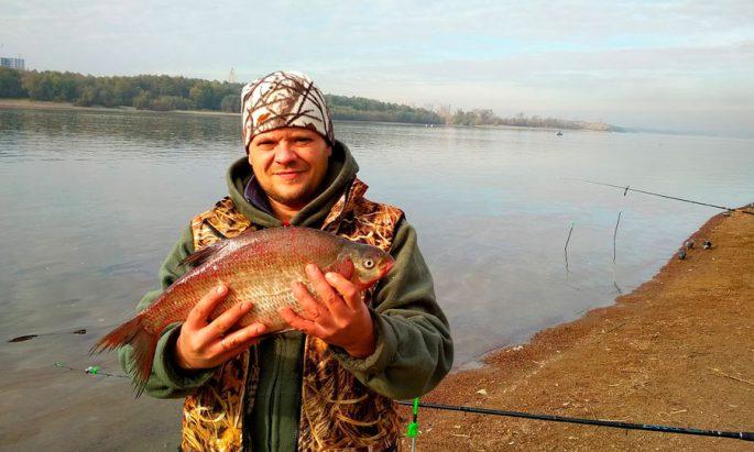 Рыбалка в Омске на реке Иртыш