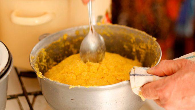 Как готовится каша для пружины