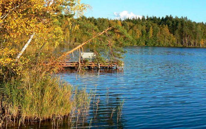 Озеро у Юры