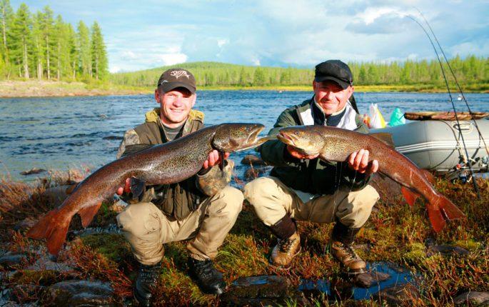 Рыбалка в Сибири и на Дальнем Востоке