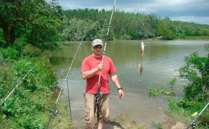 Рыбалка на реке Кубань