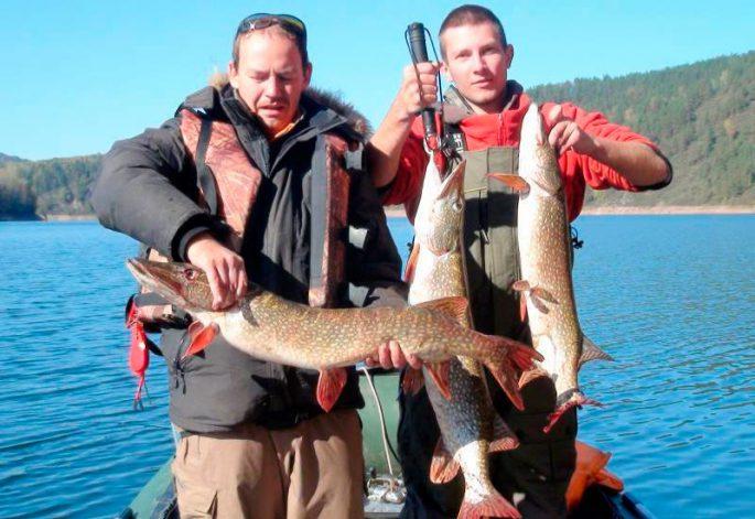 Рыбалка на Красноярском водохранилище