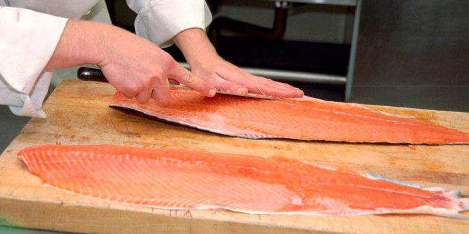 Советы по разделке лосося