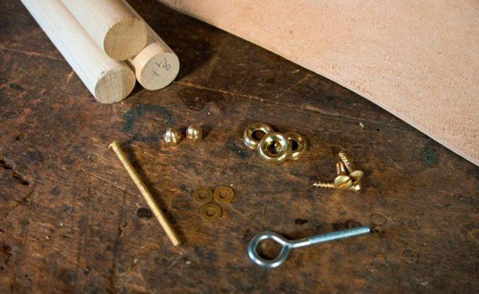 Материалы, применяемые для сборки стула