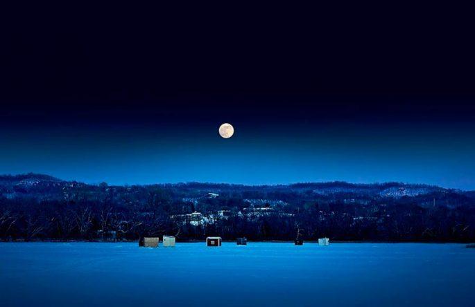 Как действует луна на поведение налима