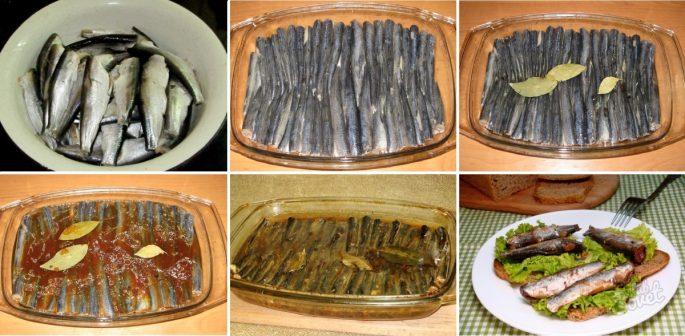 Рецепт шпротов из салаки
