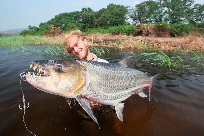 Рыбалка на речного монстра