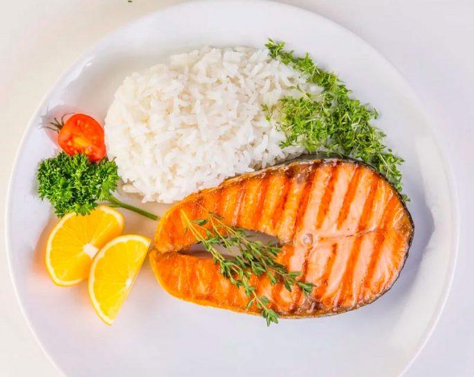 Гарниры для красной рыбы