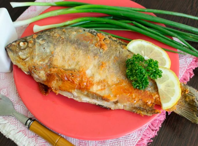 Рыба в пряной панировке