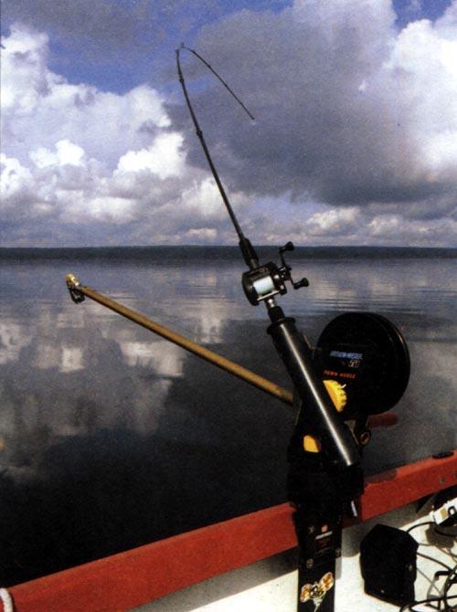 рыбалка с даунриггером