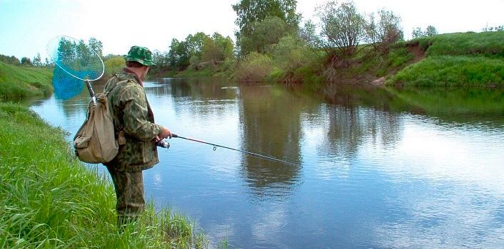 ловля рыбы зыбкой