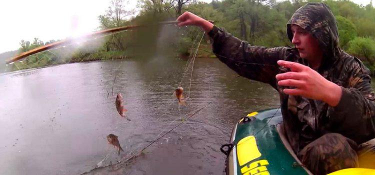 Как сделать рыболовный экран