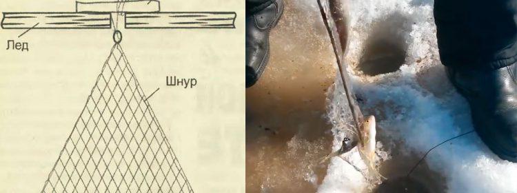 Как сделать зимнюю косынку для рыбалки видео