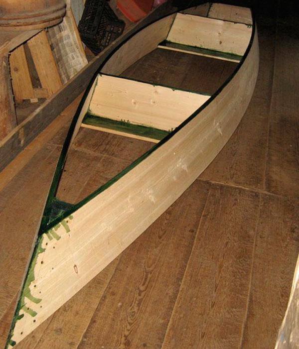 продажа самодельных деревянных лодок