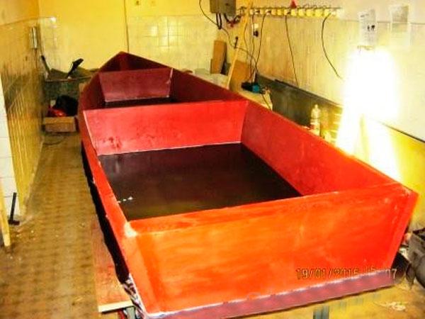 лодка своими руками в домашних условиях