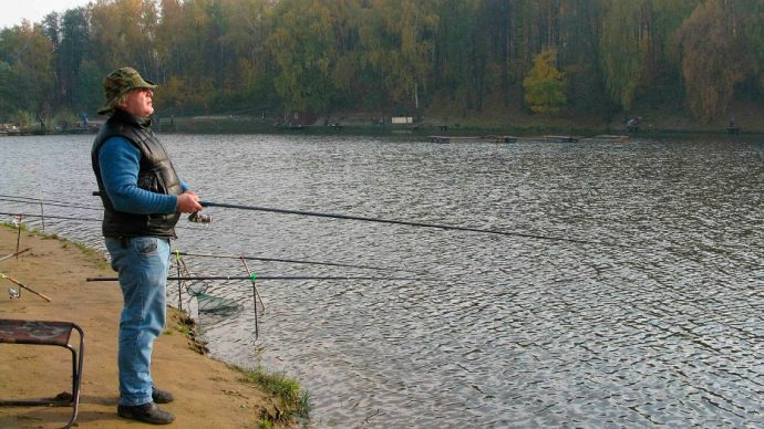 Техника ловли рыбы