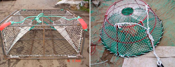 как из чего можно сделать морду для ловли рыбы
