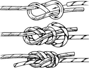 Как вязать восьмёркой узел
