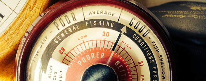 лучшее атмосферное давление рыбалки