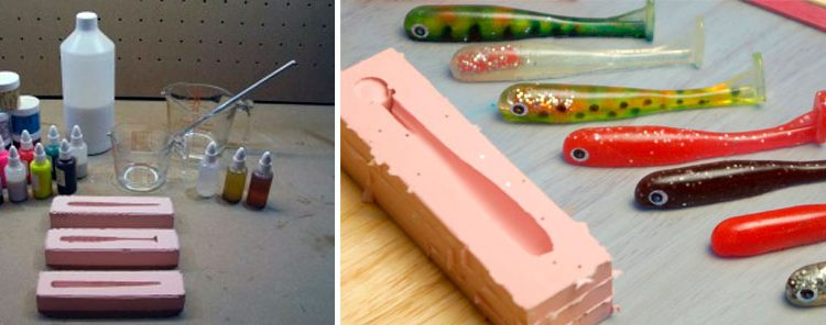 какой силикон использовать для изготовления приманок