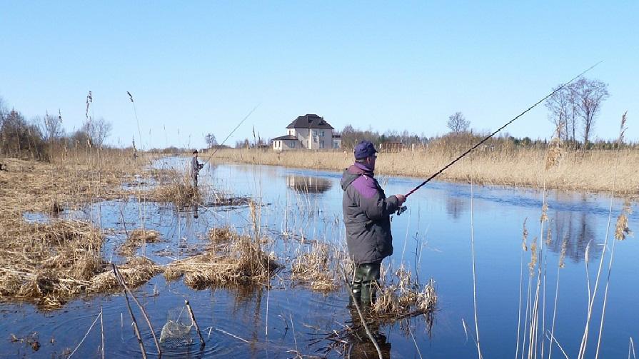 московская рыбалка весной