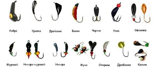 Уловистые мормышки для ловли карася зимой картинки
