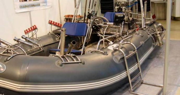 система монтажа и аксессуаров для лодок railblaza