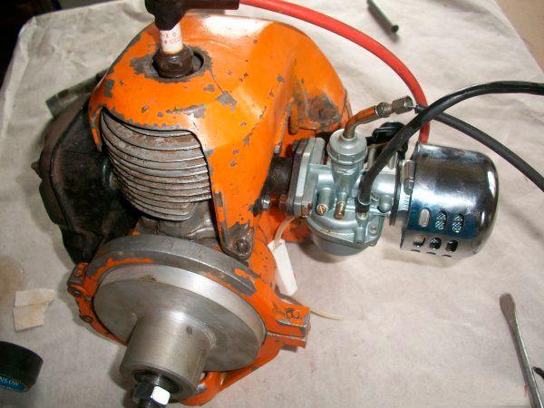 Лодочный мотор от скутера своими руками 110