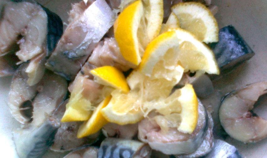 рецепт засолки скумбрии в домашних условиях с лимоном