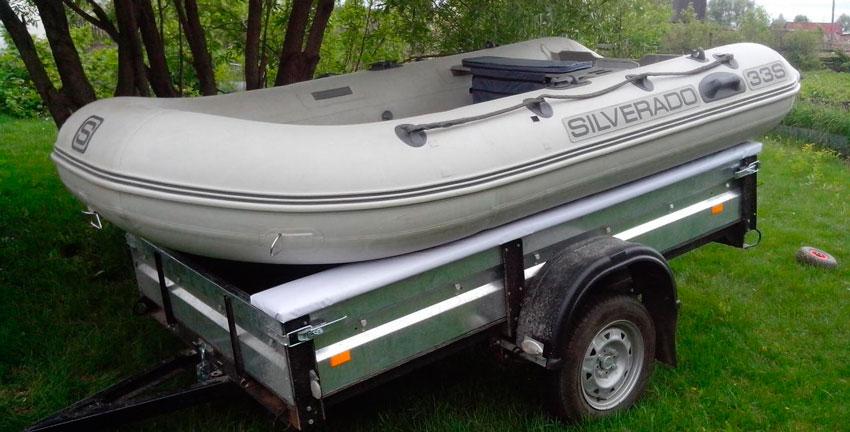 для перевозки надувных лодок