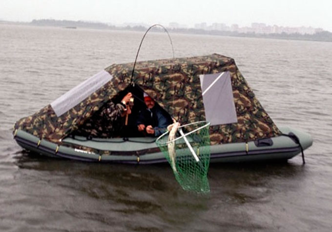 Тент для лодки ПВХ своими руками: материал, фурнитура 31