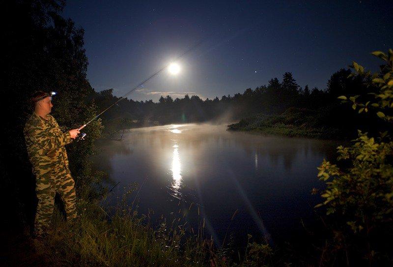 есть ли ночью рыбалка