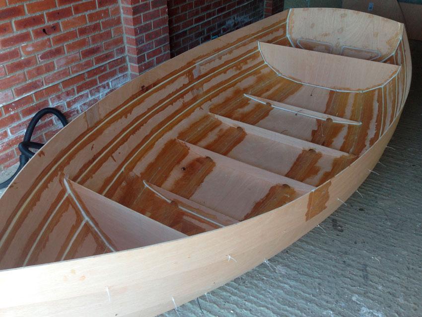 Как построить деревянную лодку своими руками из 131