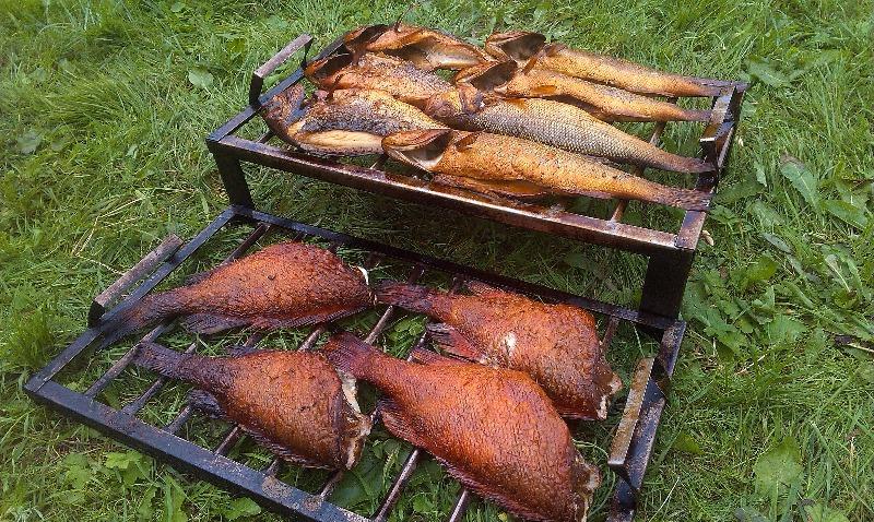 Приготовления для копчение рыбы в домашних условиях 632