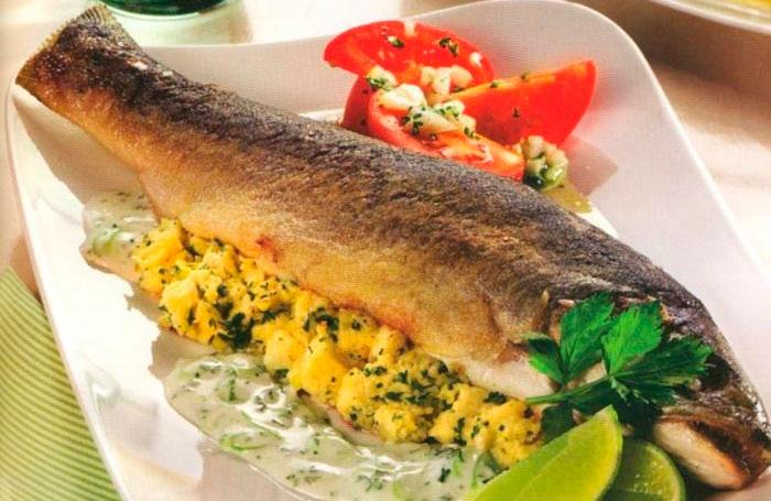 Голец рыба в духовке рецепты