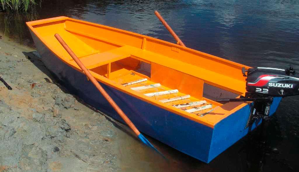 как фанерную лодку