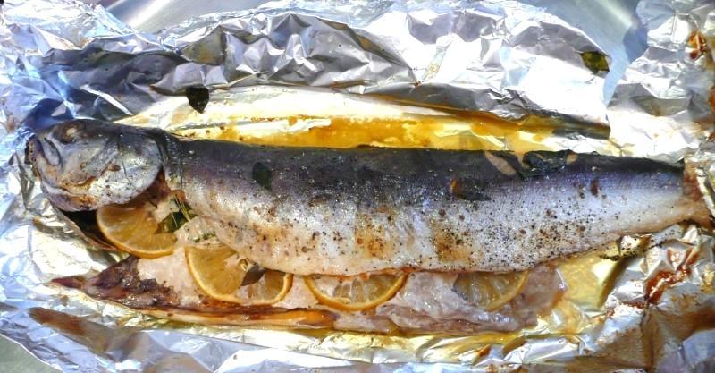 видео как вкусно приготовить голец рыбу