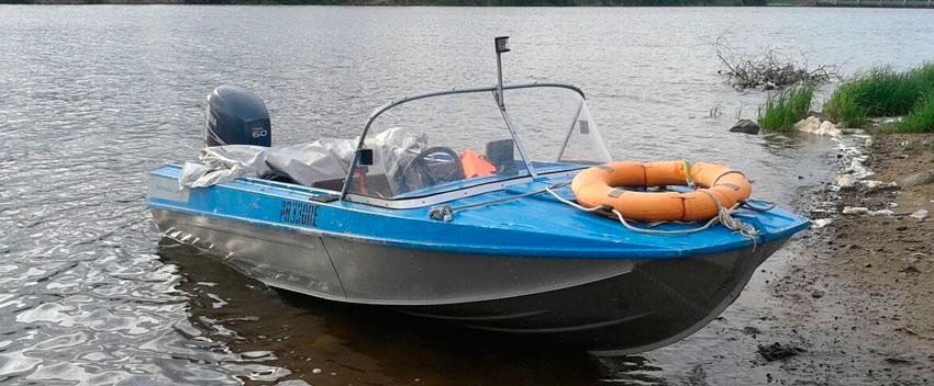 алюминиевая лодка казанка 5м4