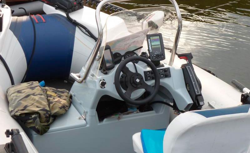 консоли для лодок