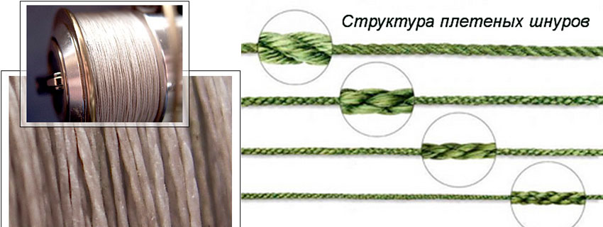 диаметр плетеного шнура для рыбалки