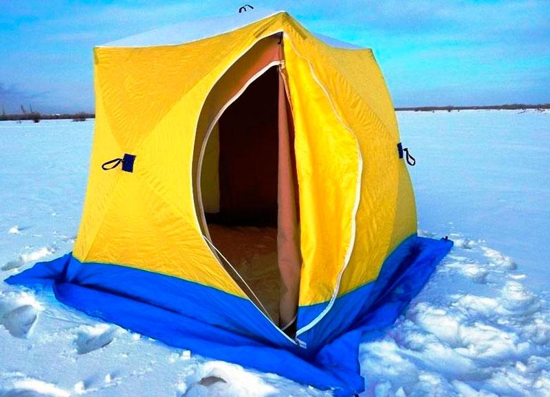 заказать палатку рыбацкую