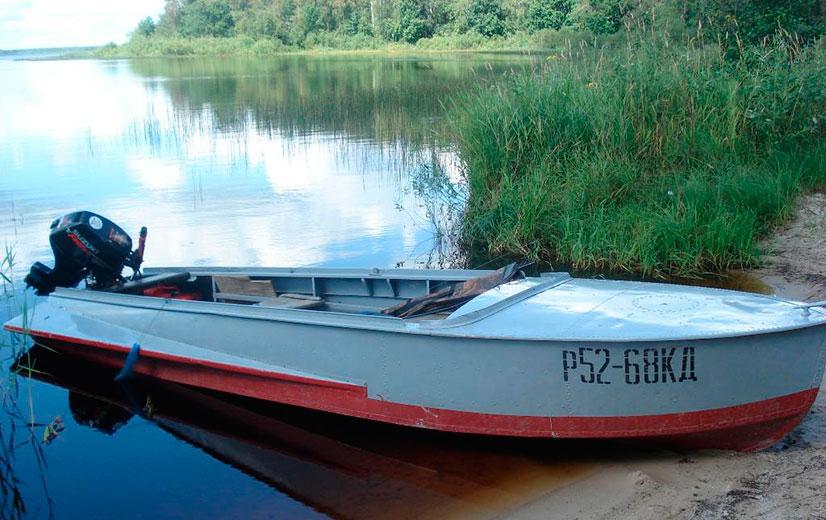 размеры моторной лодки казанка м