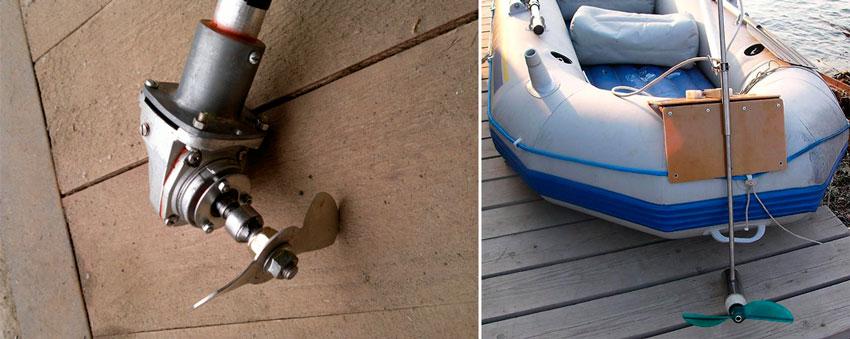 Как сделать своими руками лодочный электромотор