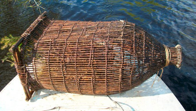 как установить вершу для ловли рыбы